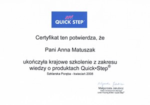 Panele Quick-step PODLOGI24.NET